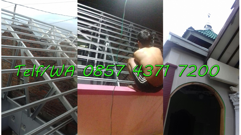 jasa pemasangan atap baja ringan untuk mushola pundungrejo tawangsari