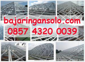 Jasa pemasangan rangka atap baja ringan di solo