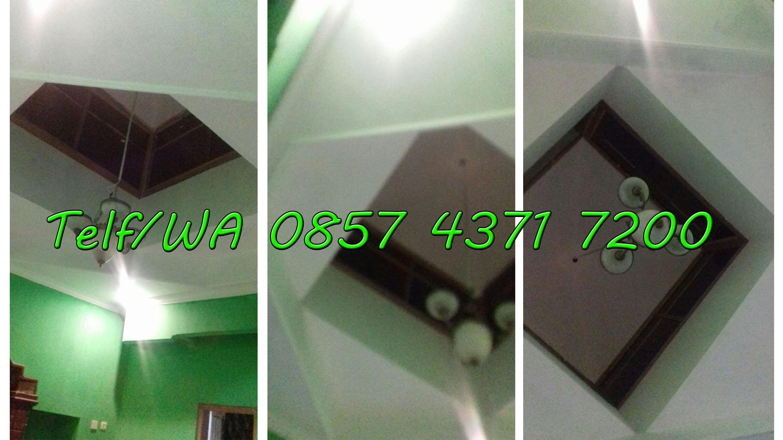 tukang plafon tawangsari foto atap kubah mushola setelah dikerjakan