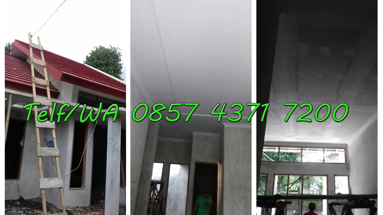 Pemasangan Rangka atap baja ringan di Klaten